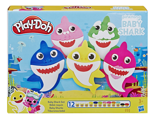 Play-Doh Bébé requin