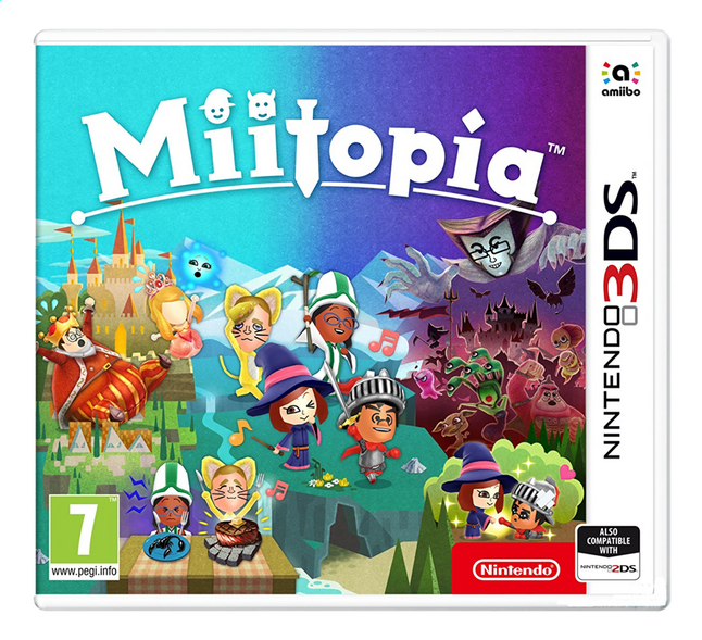 Image pour Nintendo 3DS Miitopia FR à partir de DreamLand