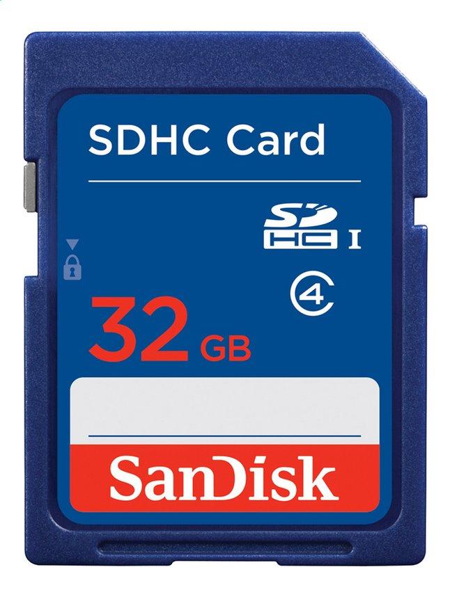 Afbeelding van SanDisk SDHC-geheugenkaart Ultra Class 4 32 GB blauw from DreamLand
