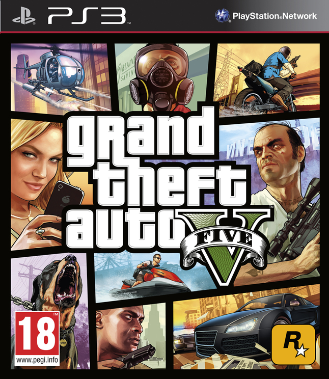 Afbeelding van PS3 Grand Theft Auto V FR from DreamLand