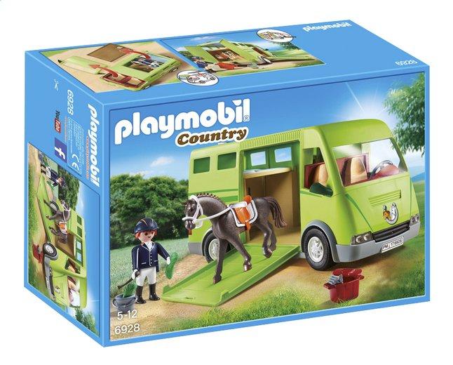 Image pour PLAYMOBIL Country 6928 Cavalier avec van et cheval à partir de DreamLand