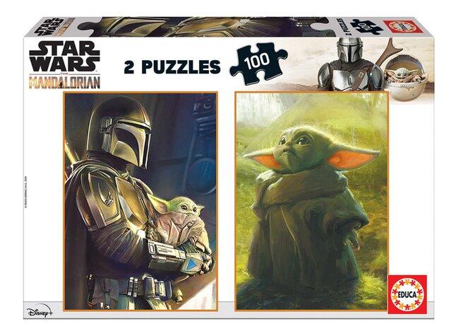 Educa Borras puzzel 2-in-1 Disney Star Wars The Mandalorian
