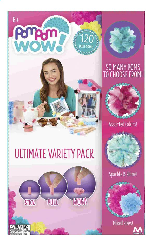 Afbeelding van PomPom Wow! Ultimate variety pack from DreamLand