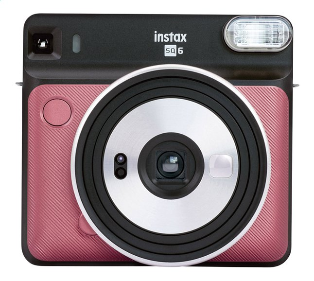 Afbeelding van Fujifilm fototoestel instax Square SQ6 ruby red from DreamLand