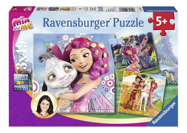 Afbeelding van Ravensbuger 3-in-1 puzzel Mia & ik from DreamLand