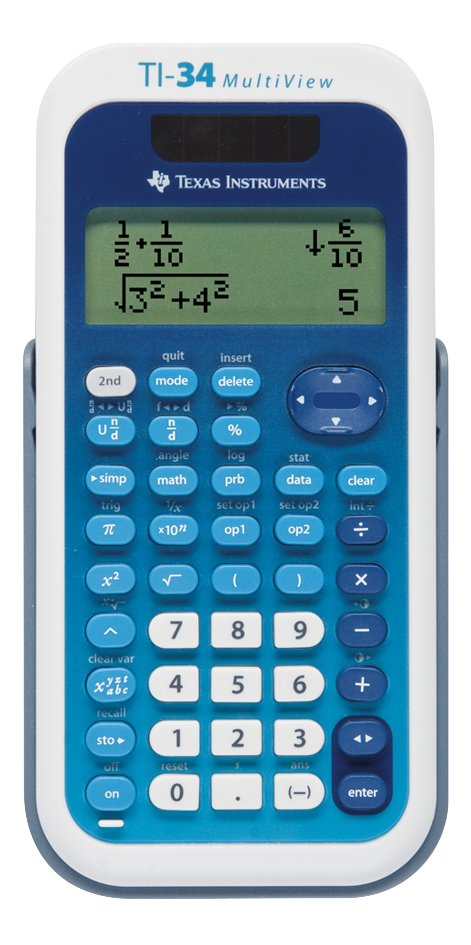 Afbeelding van Texas Instruments rekenmachine TI-34 Multi NL from DreamLand