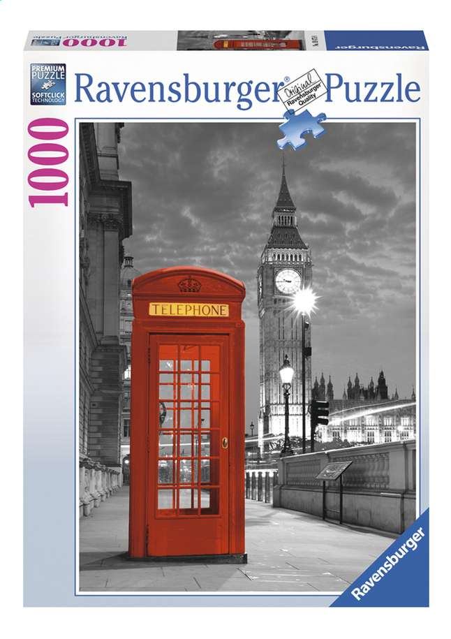 Afbeelding van Ravensburger puzzel London Big Ben from DreamLand