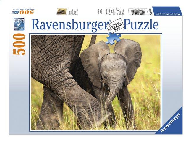 Image pour Ravensburger puzzle Éléphanteau à partir de DreamLand