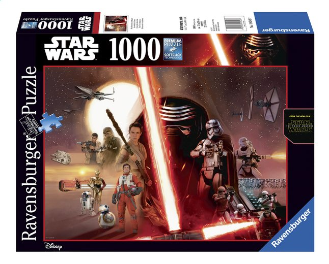Afbeelding van Ravensburger puzzel Star Wars The Force Awakens from DreamLand