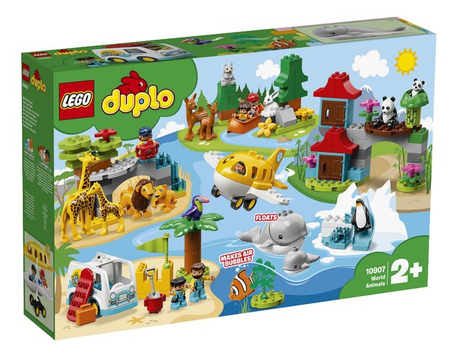 Image pour LEGO DUPLO 10907 Les animaux du monde à partir de DreamLand