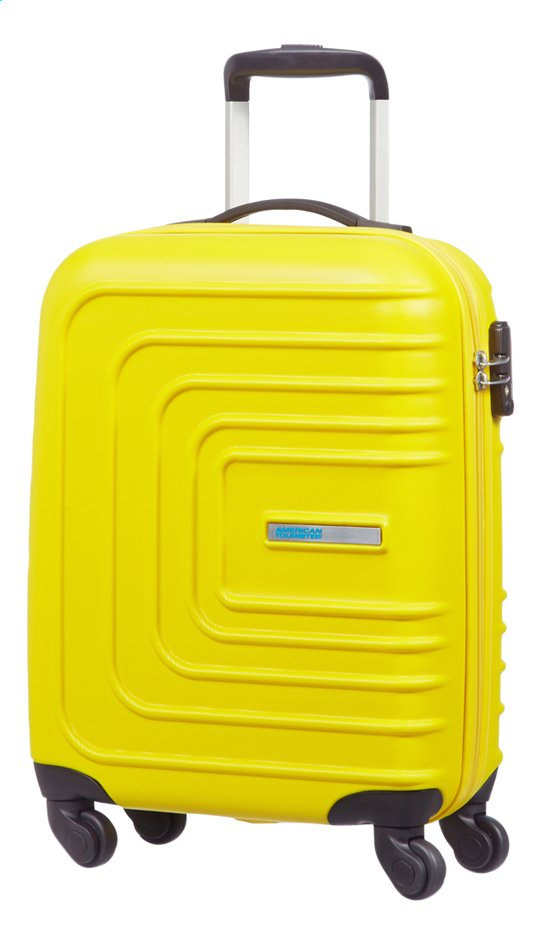 Afbeelding van American Tourister harde reistrolley Sunset Square Spinner Sunset Yellow from DreamLand