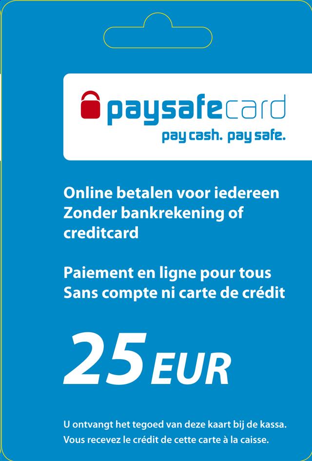 Voucher Paysafecard 25 euro