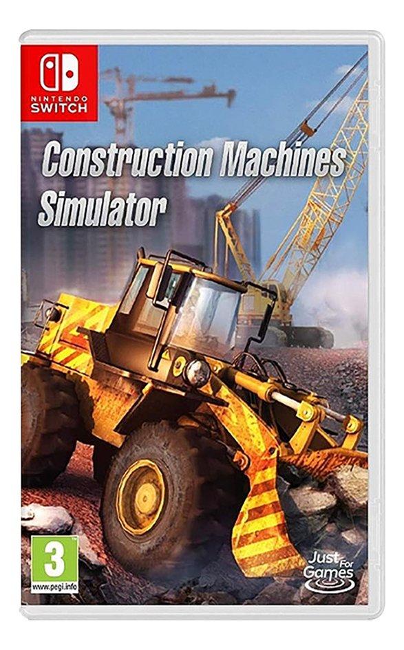 Nintendo Switch Construction Machines Simulator ENG/FR