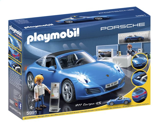 Afbeelding van Playmobil Porsche 5991 Porsche 911 Targa 4S from DreamLand