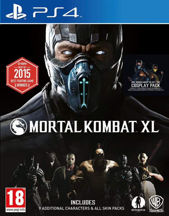 Afbeelding van PS4 Mortal Kombat XL ENG/FR from DreamLand