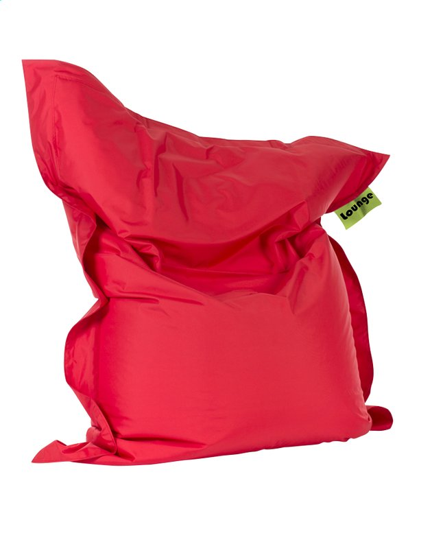 Pouf Grand rouge 164 x 134 cm