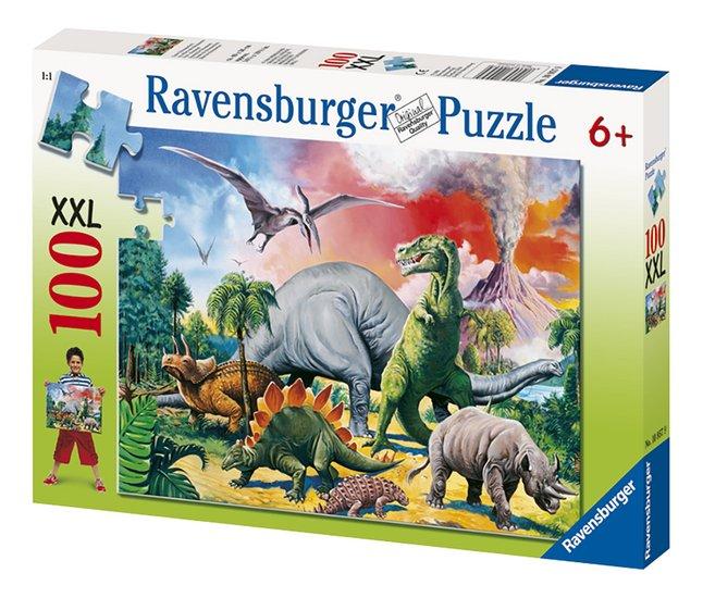 Afbeelding van Ravensburger puzzel Tussen de dinosauriërs from DreamLand