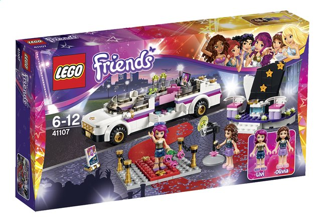 Afbeelding van LEGO Friends 41107 Popster limousine from DreamLand