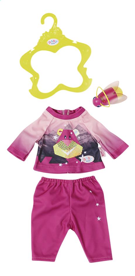 BABY born kledijset Play&Fun Nachtlampje-outfit roze
