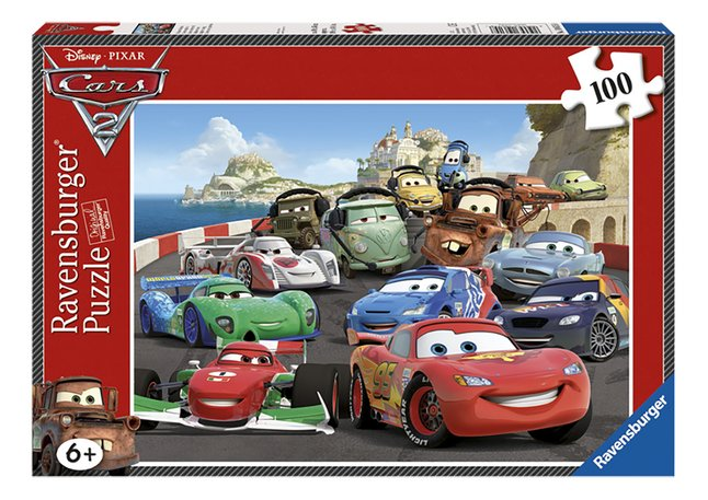 Afbeelding van Ravensburger XL puzzel Cars 2 Explosieve race from DreamLand