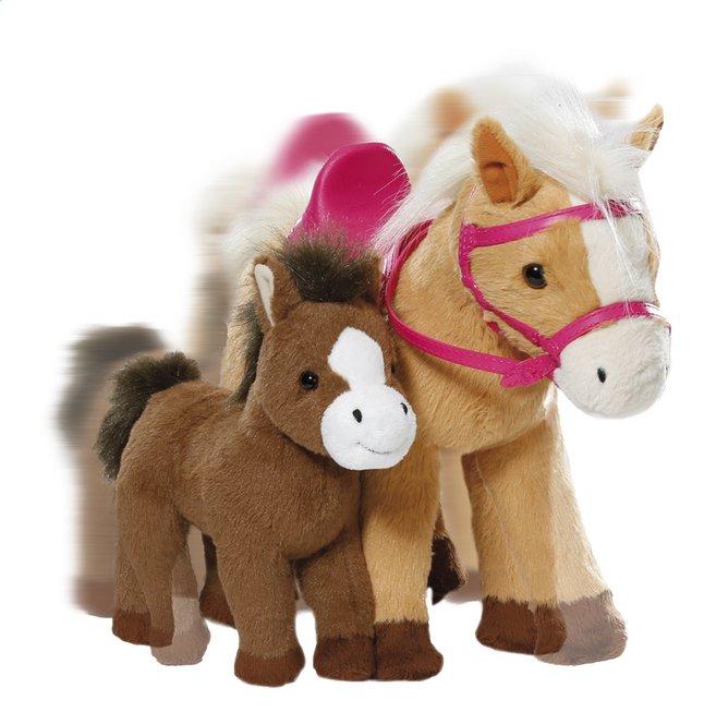 Afbeelding van BABY born interactieve pony Sunny met veulentje from DreamLand