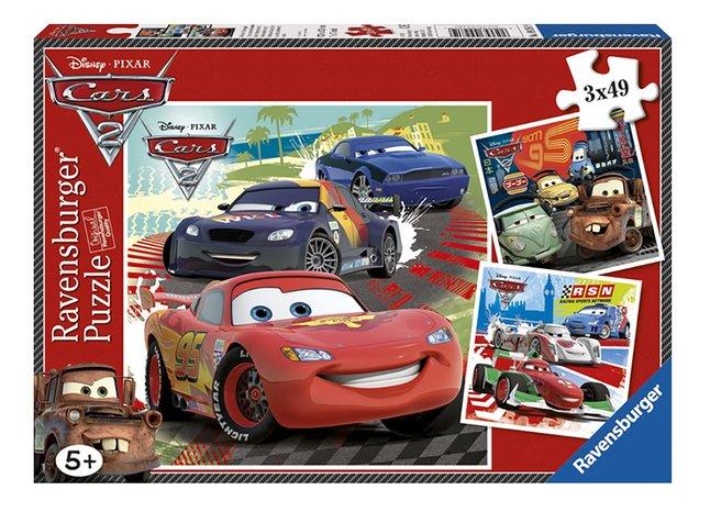 Image pour Ravensburger puzzle 3 en 1 Cars 2 à partir de DreamLand