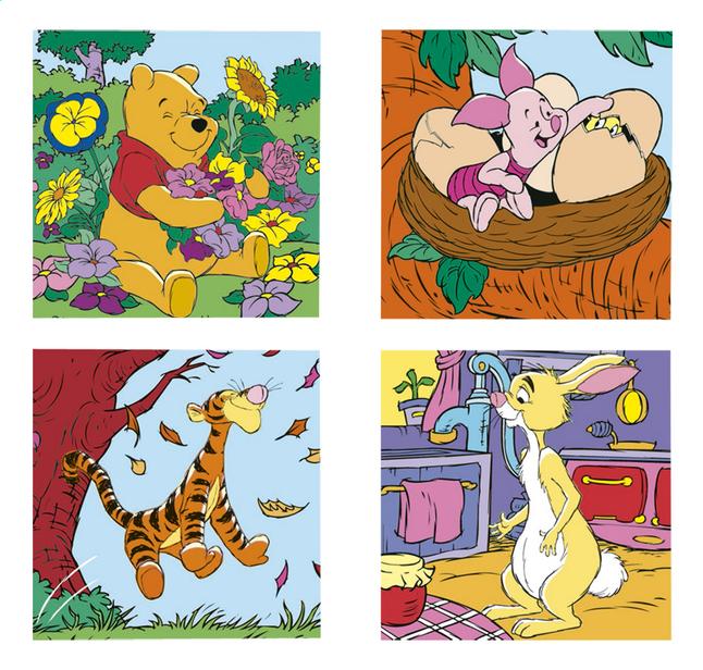 Afbeelding van Ravensburger meegroeipuzzel 4-in-1 Winnie & Co from DreamLand