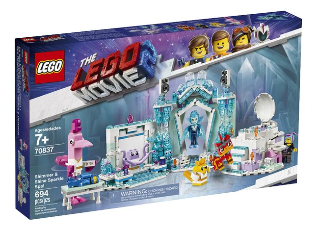 Afbeelding van LEGO The LEGO Movie 2 70837 Glitterende schitterende spa! from DreamLand
