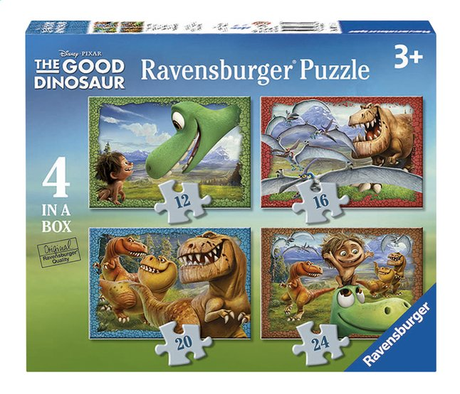 Afbeelding van Ravensburger meegroeipuzzel 4-in-1 The Good Dinosaur from DreamLand