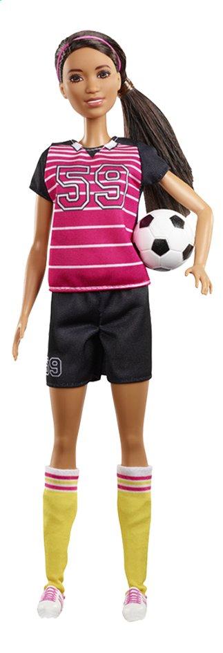 Barbie poupée mannequin  Careers Joueuse de foot