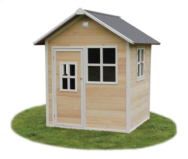 Afbeelding van EXIT houten speelhuisje Loft 100 naturel from DreamLand