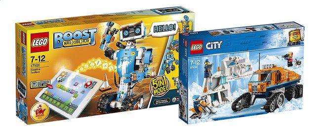 Afbeelding van LEGO Boost Creatieve Toolbox + City Arctic Scout Truck from DreamLand