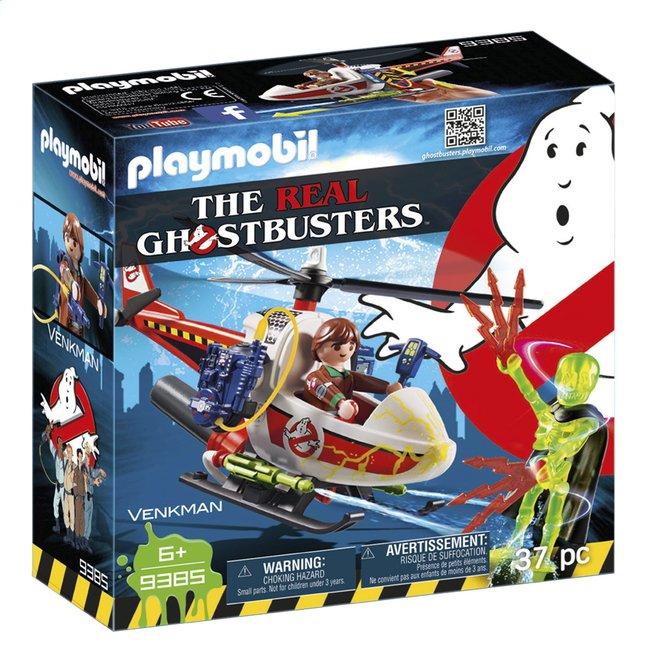 PLAYMOBIL Ghostbusters 9385 Venkman avec hélicoptère