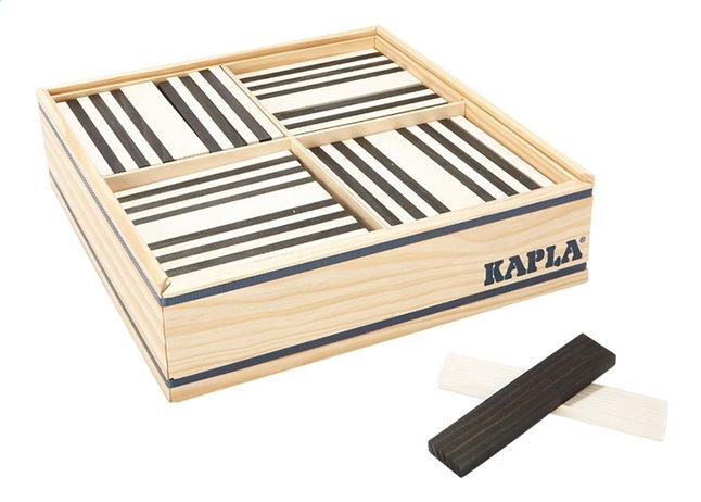 Afbeelding van KAPLA zwart en wit - 100 stuks from DreamLand