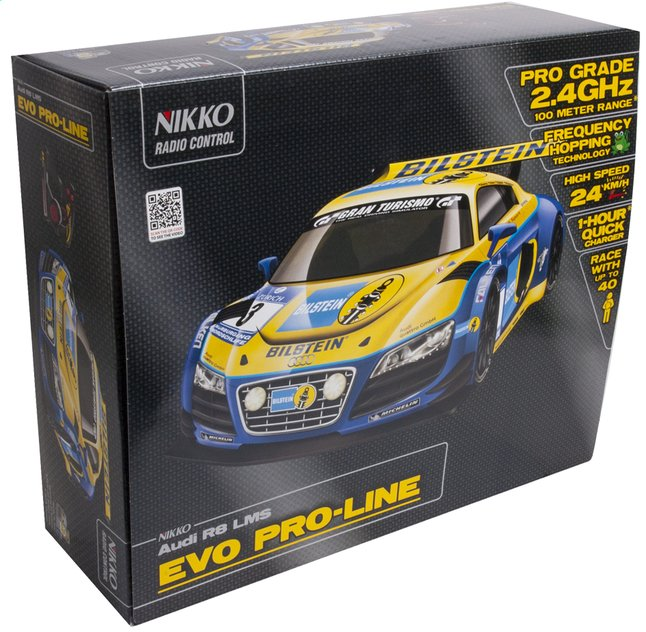 Afbeelding van Nikko auto RC Audi R8 LMS Francorchamps from DreamLand