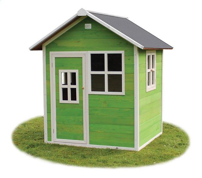 Image pour EXIT maisonnette en bois Loft 100 vert à partir de DreamLand