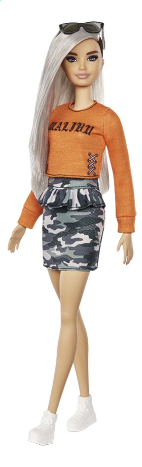 Barbie mannequinpop Fashionistas Original 107 - Malibu Camo