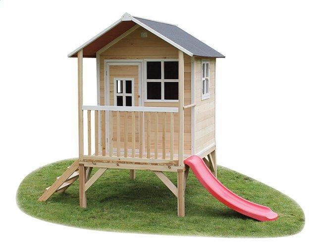 Afbeelding van EXIT houten speelhuisje Loft 300 naturel from DreamLand