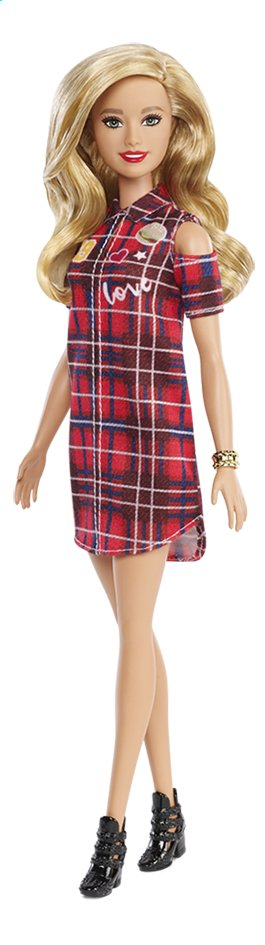 Barbie mannequinpop Fashionistas Original 113 - Patched Plaid