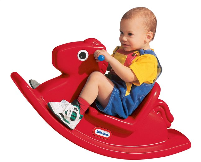 Afbeelding van Little Tikes schommelpaard Rocking Horse rood from DreamLand