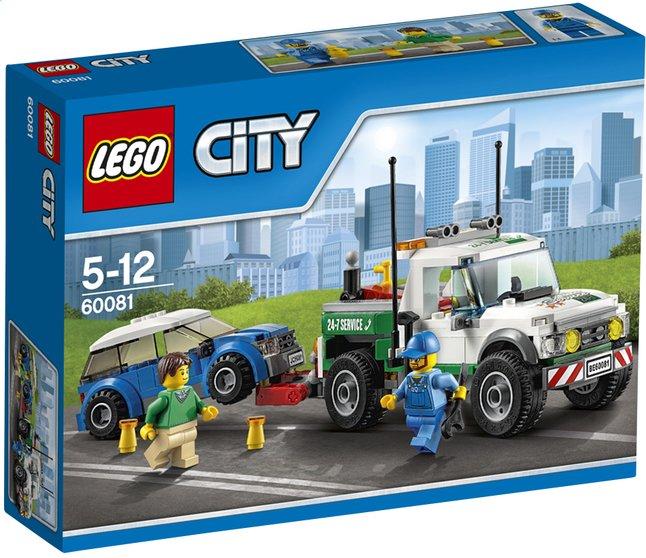 Afbeelding van LEGO City 60081 De pick-up-sleepwagen from DreamLand