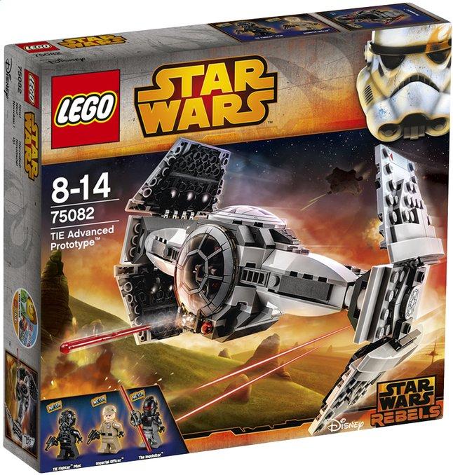 Image pour LEGO Star Wars 75082 TIE Advanced Prototype à partir de DreamLand