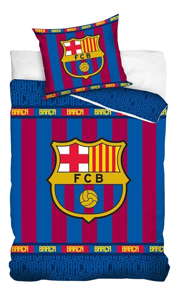 Dekbedovertrek FC Barcelona katoen 140 x 200 cm Barça