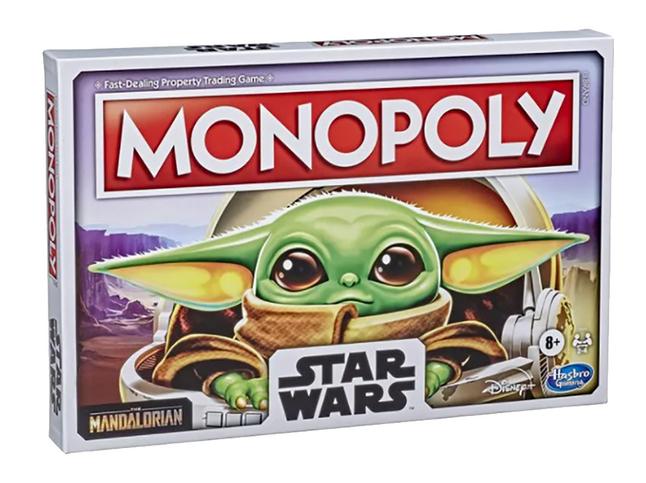 Monopoly bordspel Star Wars Mandalorian The Child
