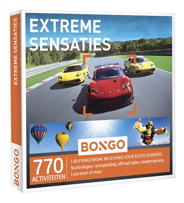 Afbeelding van Bongo Extreme Sensaties from DreamLand