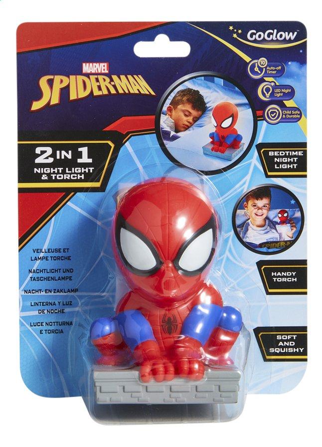 Afbeelding van GoGlow Buddy nacht-/zaklamp Spider-Man from DreamLand