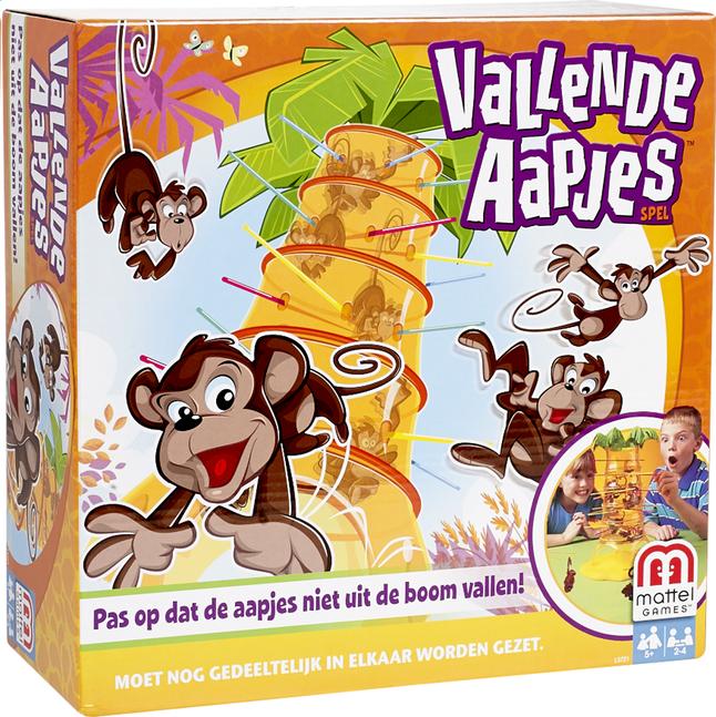 Afbeelding van Vallende aapjes from DreamLand