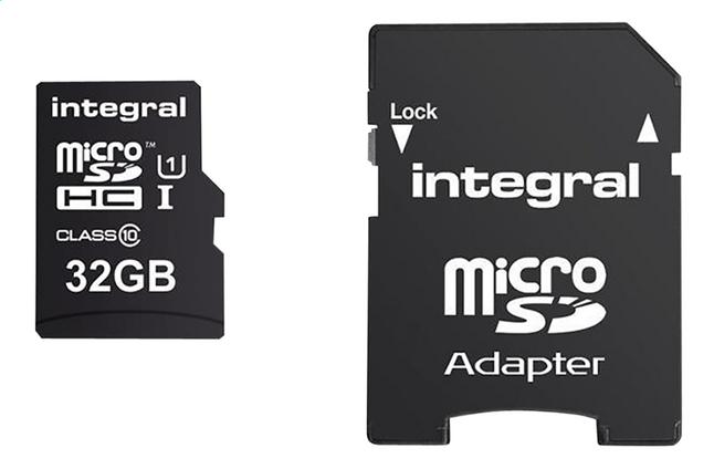 Afbeelding van Integral geheugenkaart microSD met adapter 32 GB from DreamLand