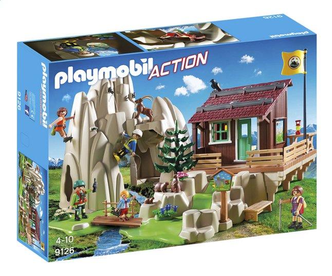 Afbeelding van Playmobil Action 9126 Bergbeklimmers met berghut from DreamLand