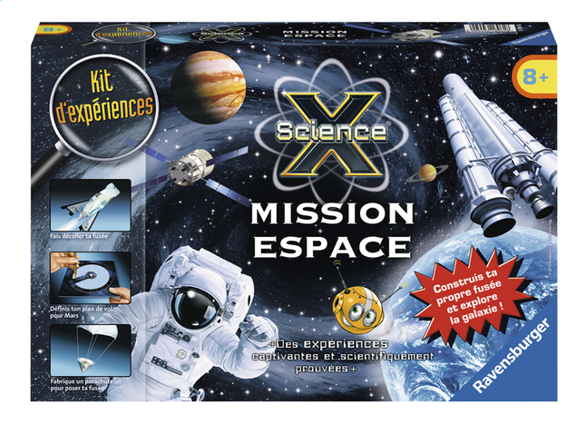 Afbeelding van Ravensburger Science X : Mission Espace FR from DreamLand